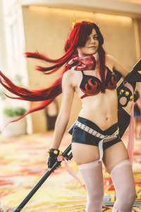 Ceruri Cosplay as Yoko Rittonā