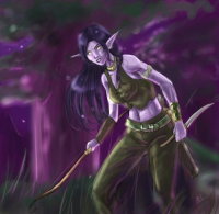 Nightelf/Hunter from Allison M