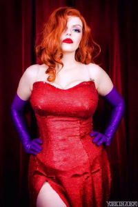 Artful Anarchy as Jessica Rabbit
