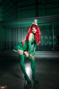 Kawaielli Cosplayer as Poison Ivy