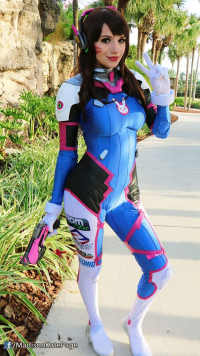 Madison Kate Page as D.Va