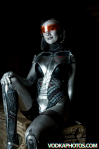 In A Time Of Cosplay as EDI