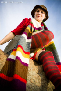 Lauren Avjean as 4th Doctor