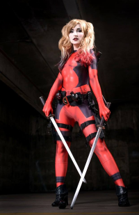 Alkali Layke as Harley Quinn/Deadpool
