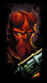 Hellboy from Ander Zarate