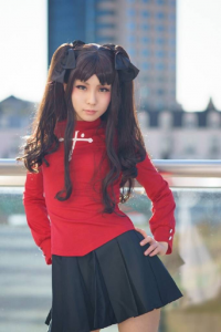 Unknown Female Artist as Rin Tohsaka