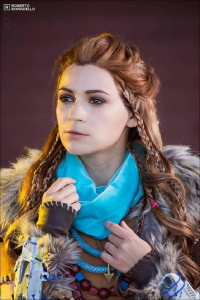 Lucky Strike cosplay as Aloy