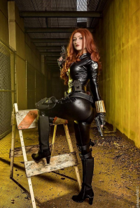 AloisTrampy as Black Widow