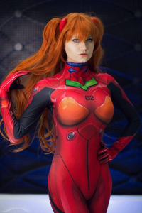 Ashe Iverk as Asuka Langley Soryu