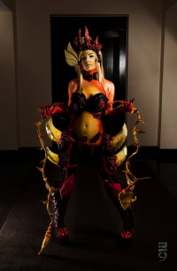 Unknown Female Artist as Zyra