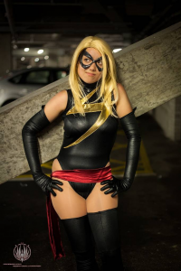 AnnaS Cosplay as Ms. Marvel