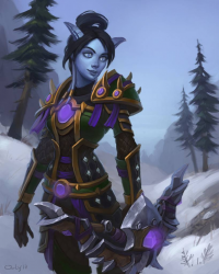 Draenei/Hunter from lowly-owly