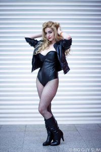 Chiquitita Cosplay as Black Canary