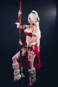 Aka Cosplay as Nidalee