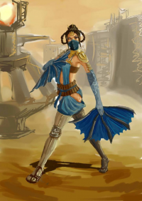 Kitana from GesiaRoss