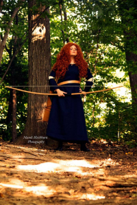 Unknown Female Artist as Princess Merida