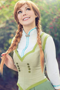 Lie-chee as Anna of Arendelle