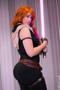 CharlotteSomethingCosplay as Mara Jade Skywalker
