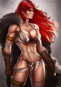 Red Sonja from Dandonfuga