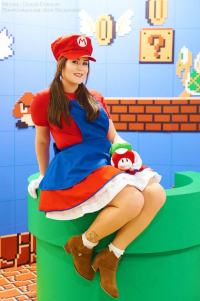 Samii Doll as Mario