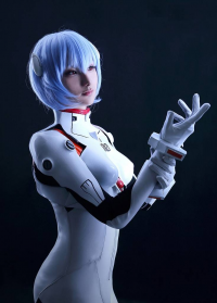 Unknown Female Artist as Rei Ayanami