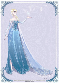 Elsa of Arendelle from AzureOcean