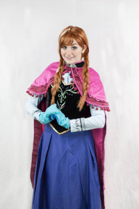 Riicare as Anna of Arendelle