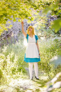LilyRose Cosplay and Crafts as Alice Liddell