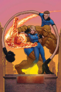 Reed Richards, Johnny Storm, Sue Storm, The Thing from John Tyler Christopher
