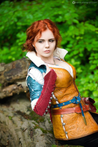 Unknown Female Artist as Triss Merigold