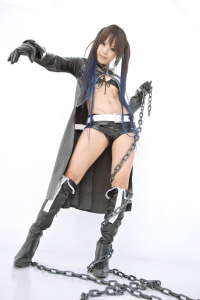 Unknown Female Artist as Black Rock Shooter