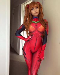 Beke Cosplay as Asuka Langley Soryu