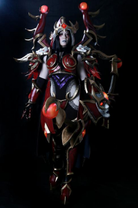 Unknown Female Artist as Sylvanas Windrunner