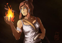 Lara Croft/Korra from Barncatz
