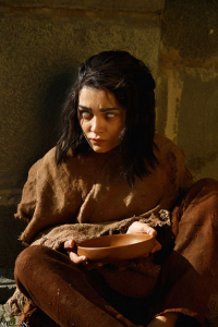 MilliganVick as Arya Stark