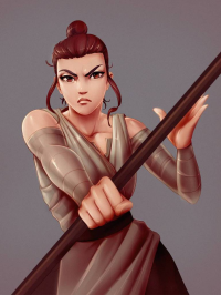 Rey from Proxyillustration