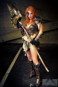 Choupett Cosplay as Barbarian