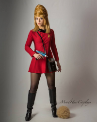 MoodHairCosplays as Janice Rand