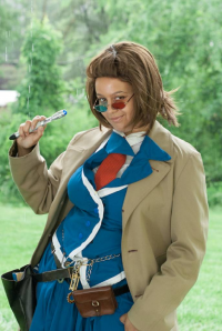 Lady Ikari Cosplay as 10th Doctor