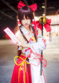 Unknown Female Artist as Reimu Hakurei