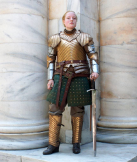 Galacticat as Brienne of Tarth