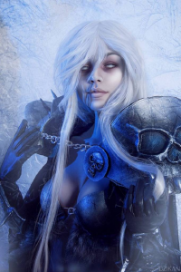 Unknown Female Artist as The Lichking