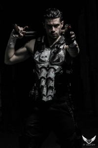 Dynamite Webber Cosplay as Punisher
