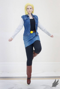 Alex Rose as Android 18