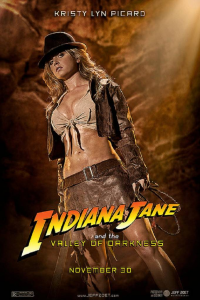 Kristy Lyn Picard as Indiana Jones