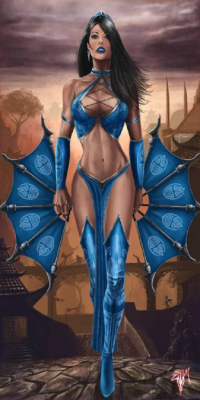 Kitana from Esau Murga