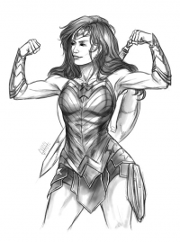 Wonder Woman from 0theghost0