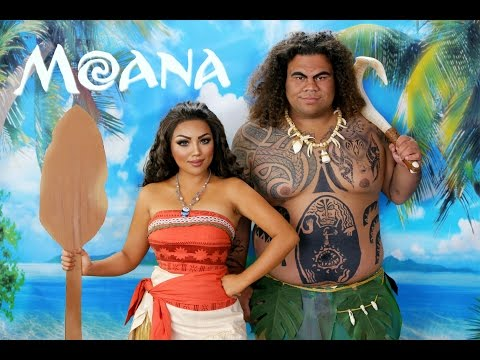 Disney's Moana Makeup