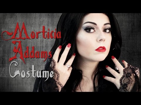 Morticia Addams | Halloween Costume Tutorial