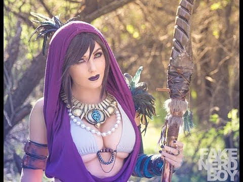 Morrigan Cosplay by Jessica Nigri